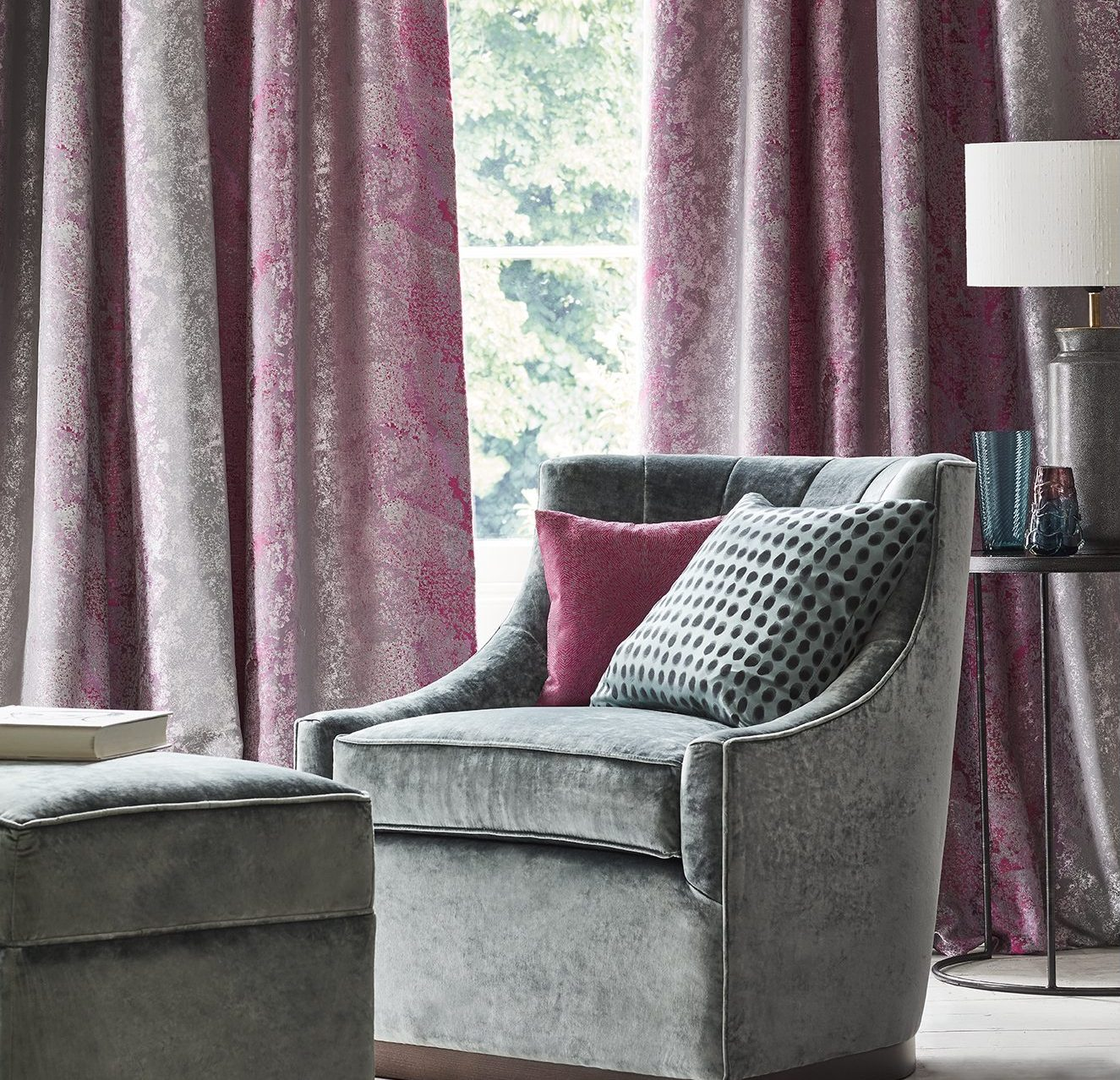 Made to Measure Curtains & Blinds in Stafford www.funkywunkydoodahs.co.uk
