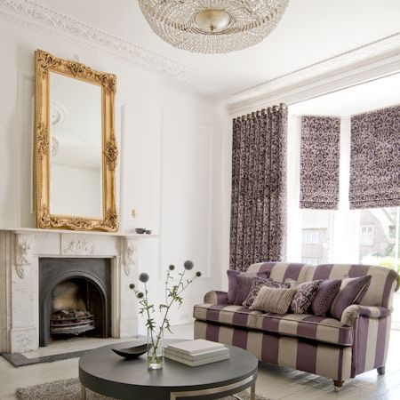 Clarke & Clarke Ideal for made to measure curtains & blinds & upholstery Stafford
