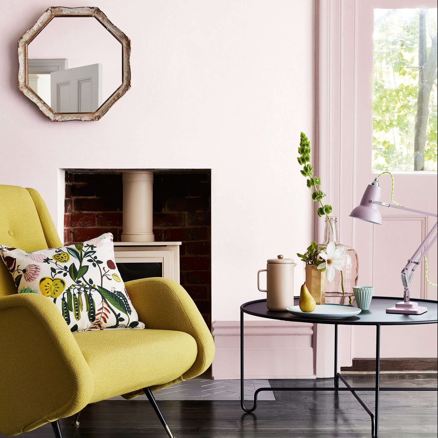 Dorchester Pink Paint by Little Greene