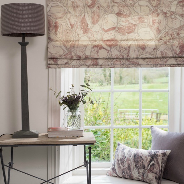 Roman Blinds Hand Sewn Stafford