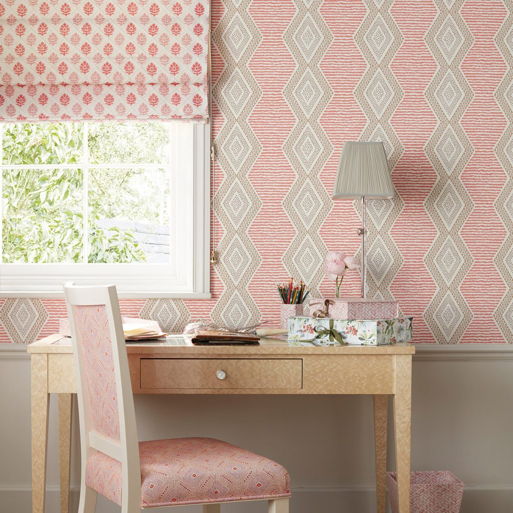 Nina Campbell fabric & wallpaper in Stafford