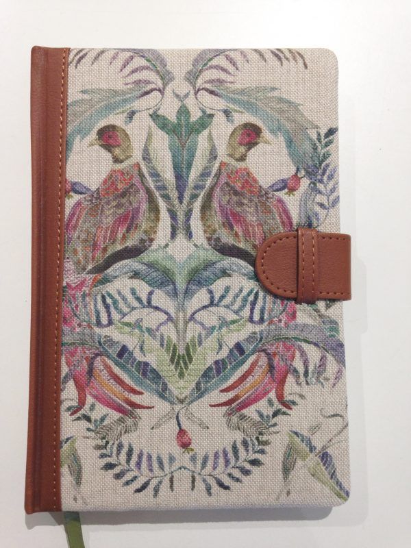 Voyage Maison Torrington Pheasant Notebook Stafford www.funkywunkydoodahs.co.uk