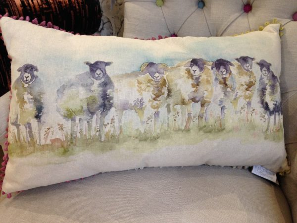 Voyage Maison Cushion Come-By Sheep Staffordshire www.fwdd.co.uk