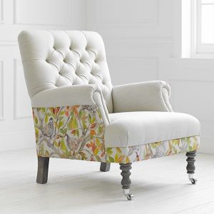 Voyage Maison Cornelius Chair in Patridge at FunkyWunkyDooDahs Ltd Stafford