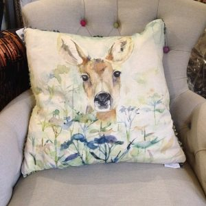 Voyage Maison Faun Cushion - Deer - Staffordhsire www.fwdd.co.uk