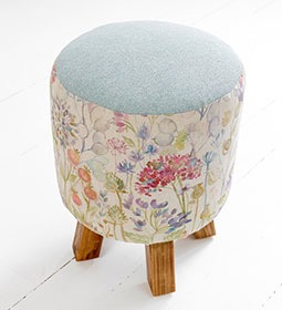 Voyage Maison Monty Footstool Hedgerow Stafford