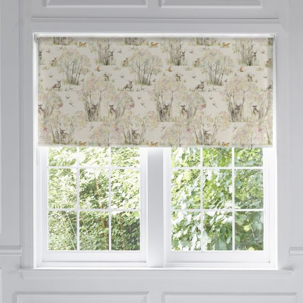 Voyage Maison Roller Blind Enchanted Forest Stag Ready Made Roller Blind Stafford www.funkywunkydoodahs.co.uk