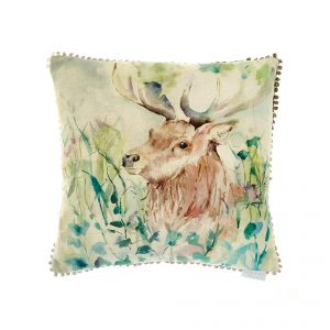 Voyage, Maison, Stag, Cushion, oak, View, Stafford