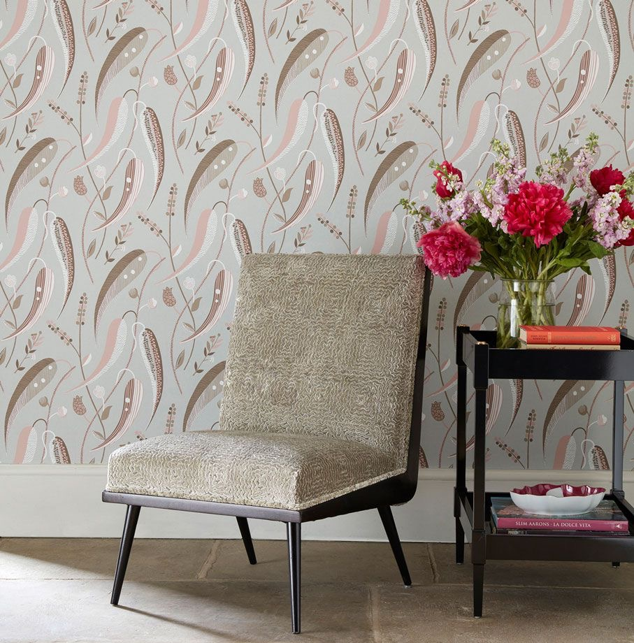 O&L, Staffordshire, Wallpaper, Osborne, Little, Interior, Design