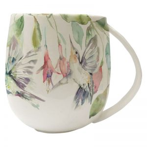 Fuschia, Flight, Voyage, Maison, Mug, China, Stafford, Staffordshire,